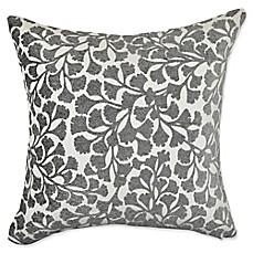 image of vesper lane midcentury floral square throw pillow