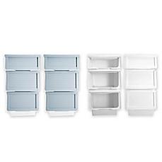 image of 6piece storage bin organizer