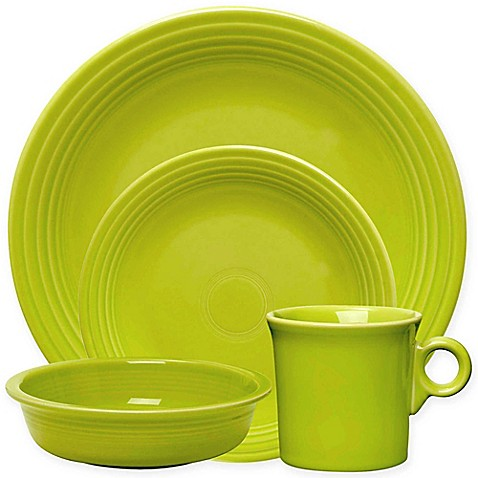 Fiesta® Dinnerware Collection in Lemongrass  sc 1 st  Bed Bath u0026 Beyond & Fiesta | Bed Bath u0026 Beyond