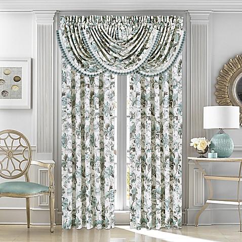 J Queen New York Atrium Room Darkening Window Curtain Panels And Valance Bed Bath Beyond