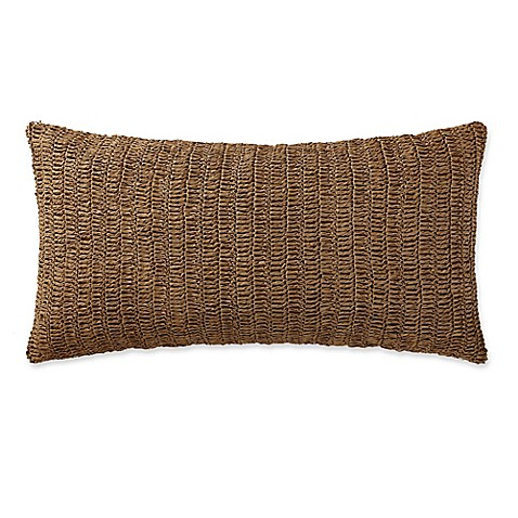 Throw Pillow Bolster : Indienne Paisley Raffia Bolster Throw Pillow in Tan - Bed Bath & Beyond