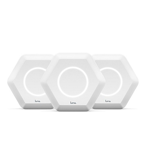 Luma Whole Home WiFi Router System in White (Set of 3) - Bed Bath ...