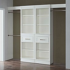 Closet Systems Storage Amp Organization Garment Racks And