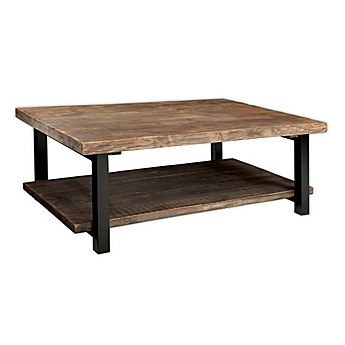 Image Of Pomona Metal And Reclaimed Wood Coffee Table