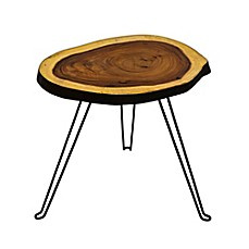 image of 222 Fifth Hudson Accent Table in Medium Brown