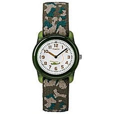 image of Timex® Time Machines Children's 29mm Camouflage Watch