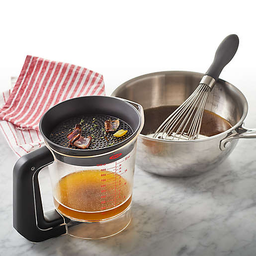 OXO Good Grips® Gravy 4-Cup Fat Separator. View a larger version of this product image.