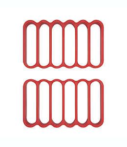 Rejillas de silicón para rostizar Good Grips® OXO, Set de 2 pzas