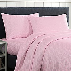 image of Lala + Bash Fifi Twin Sheet Set in Pink