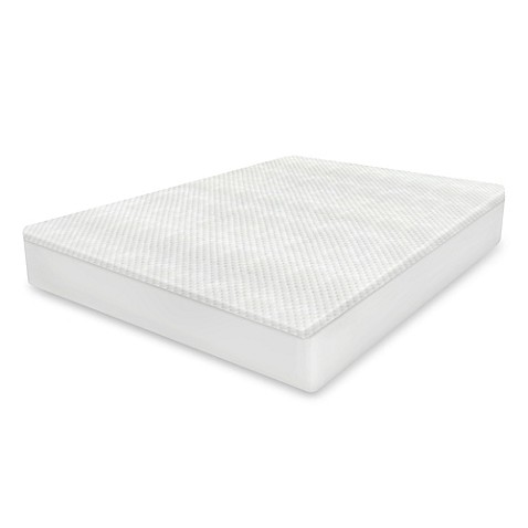 therapedic® cool-to-touch mattress protector in white - bed bath