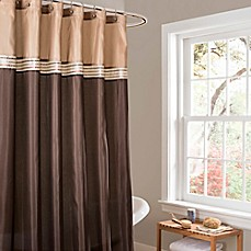 Style Lounge Shower Curtain. Lush D cor Terra Stripe Shower Curtain style lounge shower curtain  Bed Bath Beyond