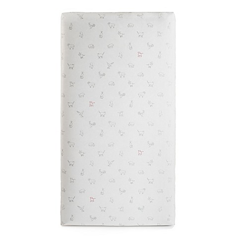 ed ellen degeneres crafted by lullaby 2stage crib mattress in grey