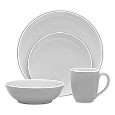 image of Noritake® ColorTrio Coupe Dinnerware Collection in Slate