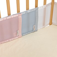 image of BreathableBaby® Mesh Crib Liner for Portable Cribs and Cradles