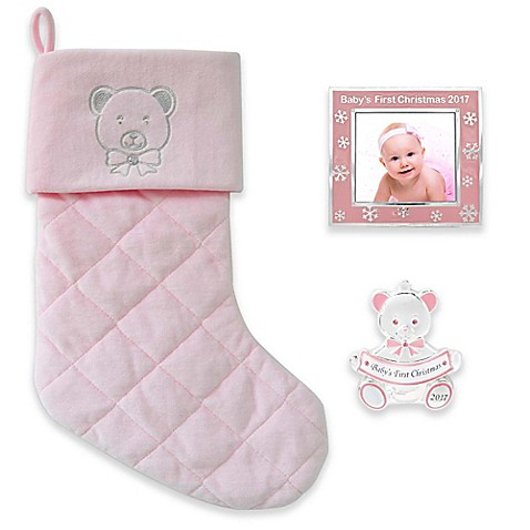 Baby keepsakes trinket boxes and piggy banks for kids bed bath image of harvey lewis 3 piece babys first christmas 2017 gift set negle Image collections