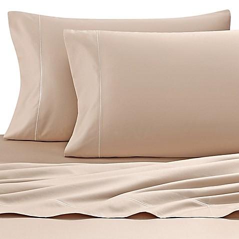 wamsutta 500 thread count pimacott memory foam mattress sheet set bed bath beyond. Black Bedroom Furniture Sets. Home Design Ideas