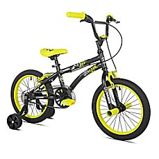 image of X-Games 16-Inch Boy's Bicycle in Black