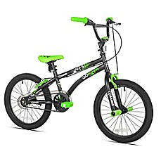 image of X-Games 18-Inch Boy's Bicycle in Black
