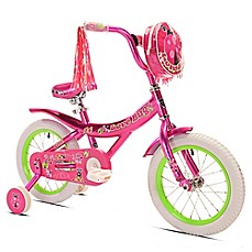 image of Kent Love Bug 14-Inch Girl's Bicycle in Pink/Green