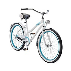 image of Body Glove Hayden 24-Inch Girl's Cruiser Bicycle in White/Teal