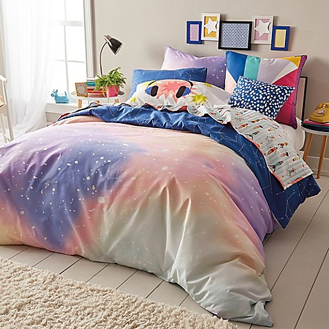 Scribble Twilight Reversible Comforter Set Bed Bath Amp Beyond