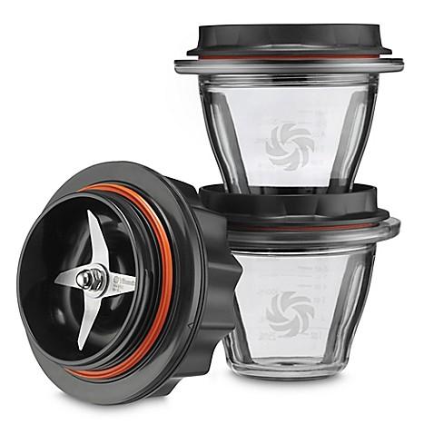 vitamix® ascent™ blending bowls starter kit (set of 3) - bed bath