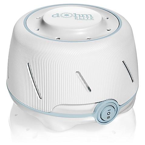 Buy Marpac® Dohm Elite White Noise Machine in White/Blue ...