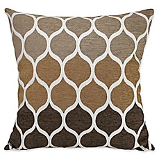 image of aura hollis chenille square throw pillow - Toss Pillows