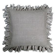 image of Wamsutta® Vintage Washed Linen European Pillow Sham in Charcoal