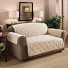 image of Faux Suede Furniture Protector Collection
