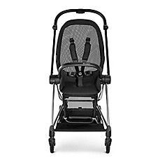 image of CYBEX Platinum MIOS Stroller Frame and Seat in Black/Chrome