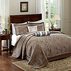 image of Madison Park Aubrey Bedspread Set