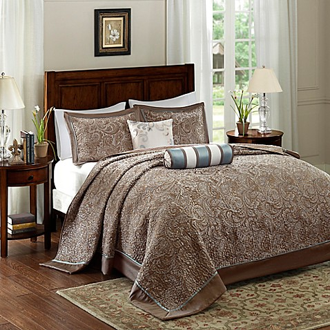 Madison Park Aubrey Bedspread Set Bed Bath Amp Beyond