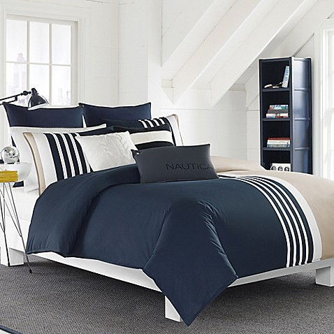Nautica 174 Aport Duvet Cover Set Bed Bath Amp Beyond