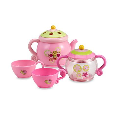 summer infant tub time tea party set buybuy baby. Black Bedroom Furniture Sets. Home Design Ideas
