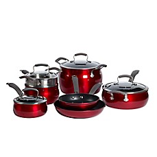 image of Epicurious Aluminum Nonstick 11-Piece Cookware Set