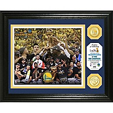 image of NBA Golden State Warriors 2017 NBA Finals Champion Celebration Bronze Photo Mint