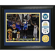 image of NBA Golden State Warriors 2017 NBA Finals Champion MVP Single Coin Photo Mint
