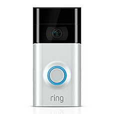 image of Ring Video Doorbell 2 in Satin Nickel/Venetian