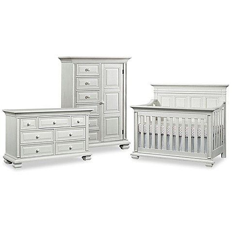 Soho Baby New Haven Nursery Furniture Collection In Oyster White