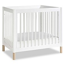image of Babyletto Gelato 2-in-1 Mini Crib/Twin Bed in White