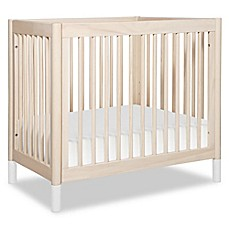 image of Babyletto Gelato 2-in-1 Mini Crib/Twin Bed in Natural