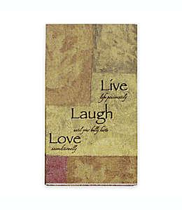 Toallas desechables de papel Live Love Laugh®, de 16 piezas