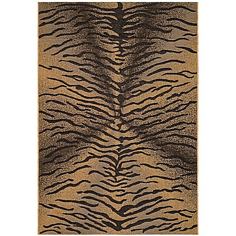 Buy safavieh courtyard 4 foot x 5 foot 7 inch elyse indoor outdoor rug in black natural from bed - Tips to consider when buying an outdoor rug ...