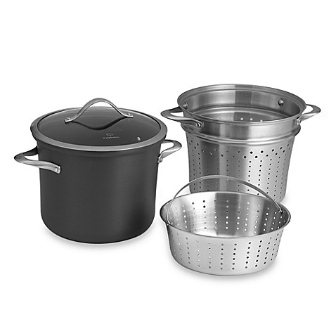 nonstick 8 qt multi pot with steamer