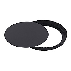 image of Paderno World Cuisine Fluted Tart Pan in Black