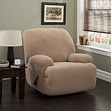 Image Of Newport XL Recliner Stretch Slipcover