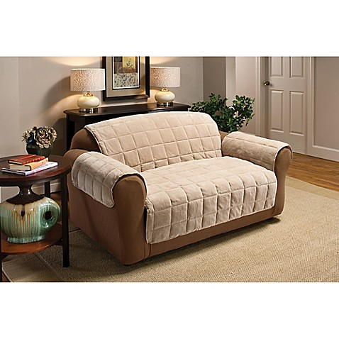 Plush Loveseat Protector Bed Bath Beyond