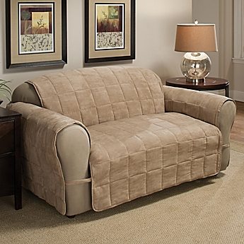 Image Of Ultimate Faux Suede Sofa Protector