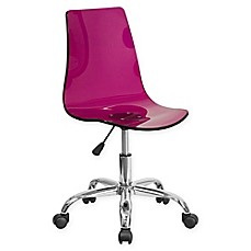 Flash Furniture Transparent Acrylic Task Chair